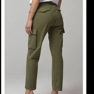 CITIZENS OF HUMANITY GAIA PANT Army Green Size 31